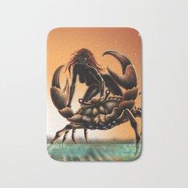 cancer- zodiac Bath Mat