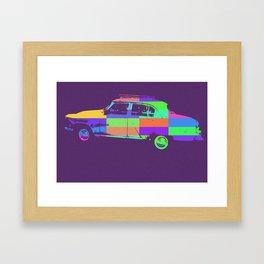 Pobeda pop Framed Art Print