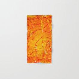 Vegetable Abstract Print Hand & Bath Towel