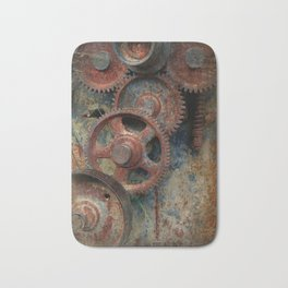 Gear mechanism Bath Mat