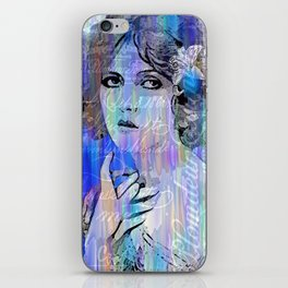 Clara Bow:  I'll See You In New York iPhone Skin
