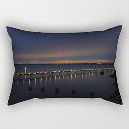 Boulevard Boardwalk, Bellingham, WA Rectangular Pillow