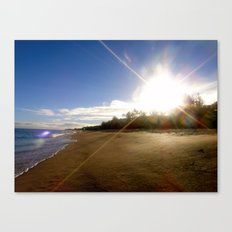Sun, Sand, Surf Canvas Print