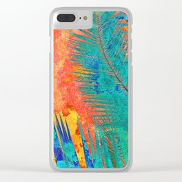 Vibrant jungle for Frida Clear iPhone Case