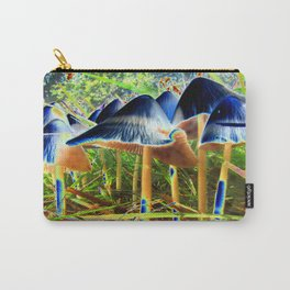 The Wave - Solarized Mushrooms Carry-All Pouch
