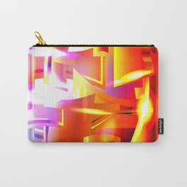 Golden Angelic Armor (Geometric Abstract Digital Art) #08 Carry-All Pouch