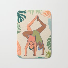 Contortion Twins Bath Mat