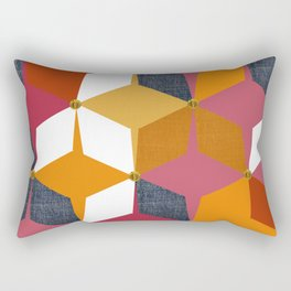 KALEIDOSCOPE 02 #HARLEQUIN Rectangular Pillow