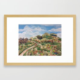 Towards Cuilcagh Framed Art Print