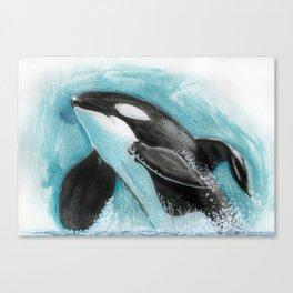 Tilikum Canvas Print