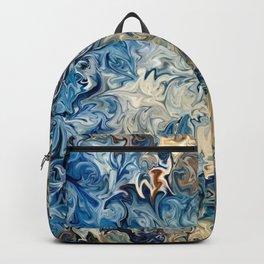 Ocean Blue Backpack