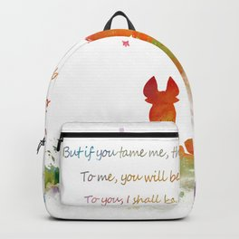 Little Prince Fox Backpack