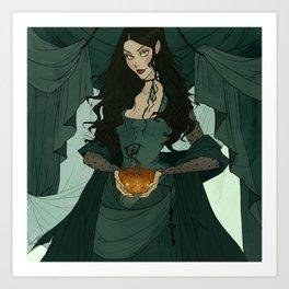 Jack (O'Lantern) and Jill Art Print