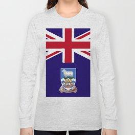 Falkland Islands flag emblem Long Sleeve T-shirt