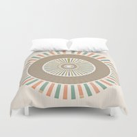 infinity Duvet Covers featuring Infinity by Tammy Kushnir