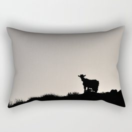 The Goat of Chania Rectangular Pillow