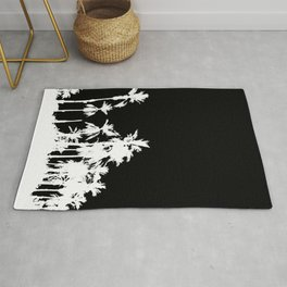 Date Palm Trees 2 Rug