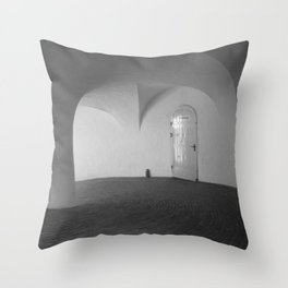 Copenhagen Round Tower 1 Throw Pillow