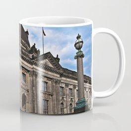 Bode Museum with cloud drama Coffee Mug