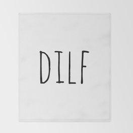 Dilf Throw Blanket