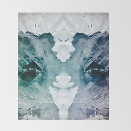 Test de Rorschach II Throw Blanket