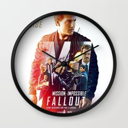 Mission Impossible 2018 Wall Clock