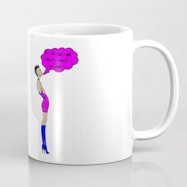 I'm the Girl Punk Rocker Coffee Mug