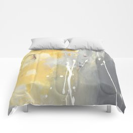 50 Shades of Grey and Yellow Comforters