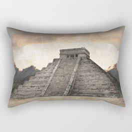 Mayan pyramid - Mexico Rectangular Pillow