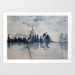 Herefoss-GerlindeStreit Art Print