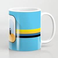 donald duck Mugs featuring donald duck by designoMatt