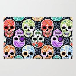 Calaveras_ Sugar Skulls_Celebracion del Color_RobinPickens Rug