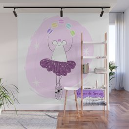 Mouse Circus - Macaron Juggler Wall Mural