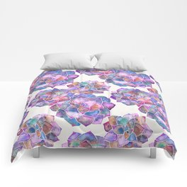 Rosette Succulents – Galaxy Palette Comforters