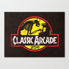 CLASSIC ARCADE Canvas Print