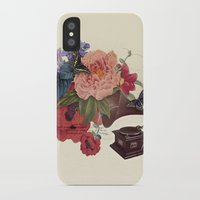 flora iPhone & iPod Cases featuring FLORA by Pepper / Shop