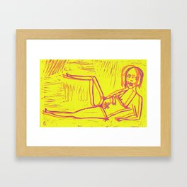 Marilu Framed Art Print