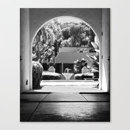 Through the Stables Canvas Print