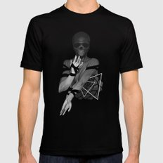 Undead Blossom SMALL Black Mens Fitted Tee