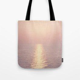 cashmere rose sunset Tote Bag