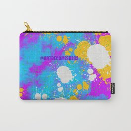 Unicorn Abstract Carry-All Pouch