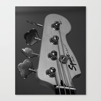 bass Canvas Prints featuring Bass by Elisa Camera