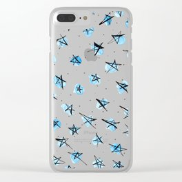 Starburst Clear iPhone Case