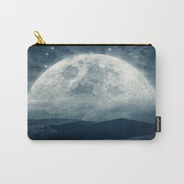 Pilgrimage    collage, landscape, moon, desert Carry-All Pouch
