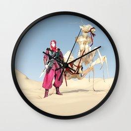 the dromedary Wall Clock