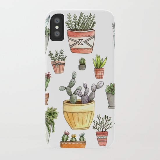 Potted Succulents iPhone Case