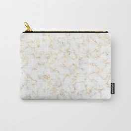 Reflection of the golden glare with marble Carry-All Pouch