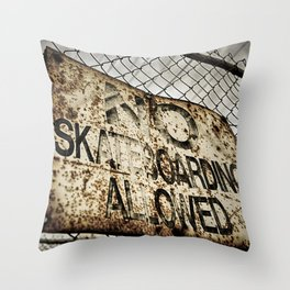 Disallowed Throw Pillow