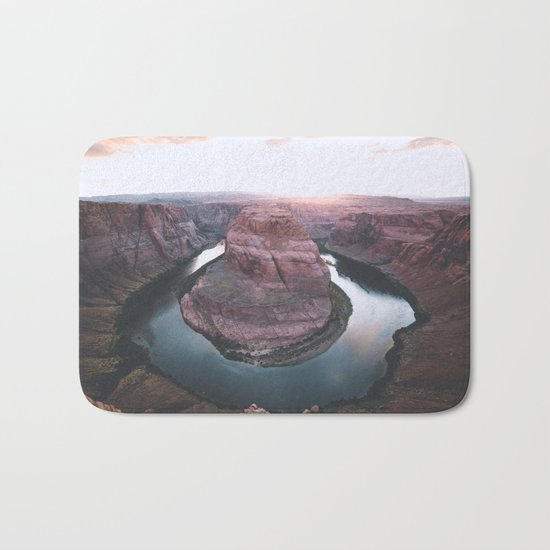 Canyon of dreams #landscape Bath Mat