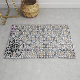 lisbon mosaic Rug